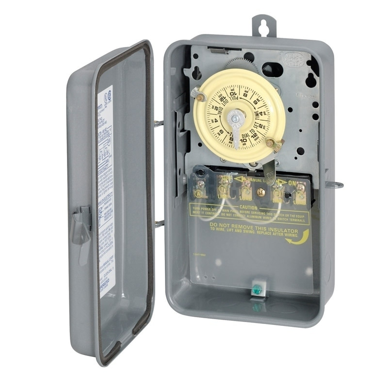 Intermatic Indoor and Outdoor Mechanical Timer Switch 40 ...