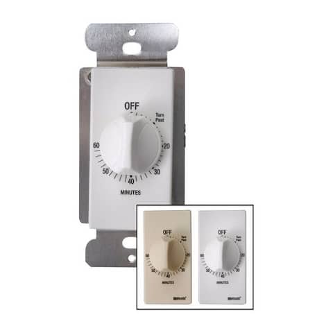 Coleman Cable Indoor Spring Wound Timer 20 amps 125 volts White