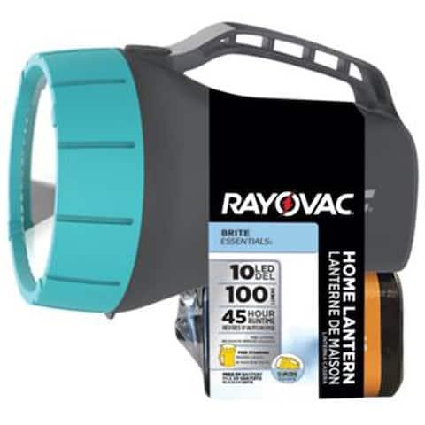 Rayovac BRITE ESSENTIALS LED ABS Lantern 6-Volt Multicolored