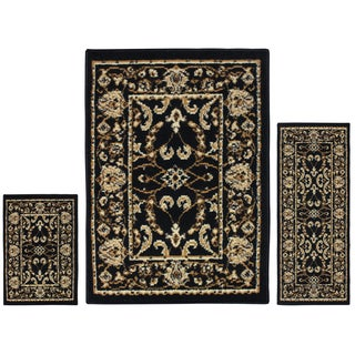 Superior Designer Barringer 3-piece Area Rug Set