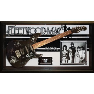 Fleetwood Mac Signed Guitar