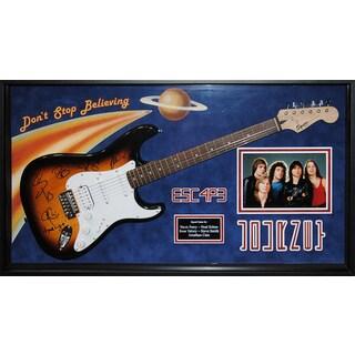 Journey Signed Guitar Don't Stop Believing Custom Framed