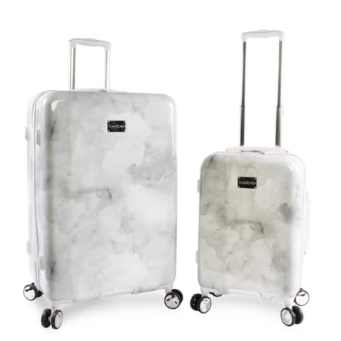 BEBE Lilah 2-piece Hardside Spinner Luggage Set