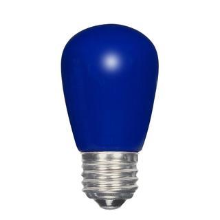 Satco 1.4W LED S14 - Ceramic Blue - Medium Base - 120V