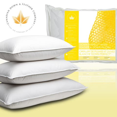 Canadian Down & Feather Company Down Perfect White Feather & Down Pillow