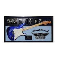 Aerosmith Signed Guitar Sweet Emotion Custom Framed