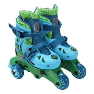 Playwheels TMNT Convertible 2-in-1 Kids Skate Junior Size 6-9