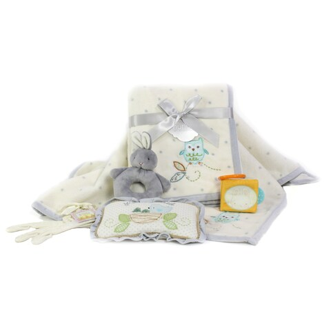 Owls & Bunnies Baby Shower Gift Assortment