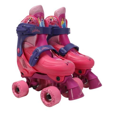 Playwheels Disney Princess Kids Rollerskate Junior Size 10-13