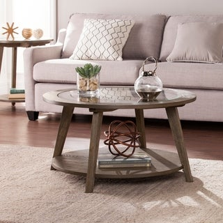 Link to The Gray Barn Oriaga Round Coffee Table Similar Items in Living Room Furniture