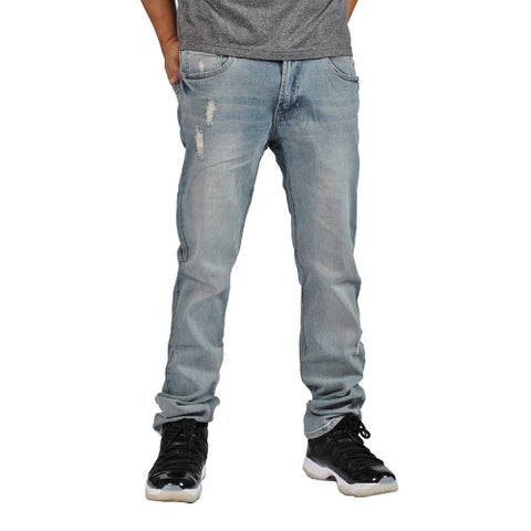 Indigo People Premium Quality Straight Light Vintage Jeans
