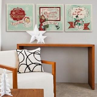 Christmas Frames -3 Piece Set