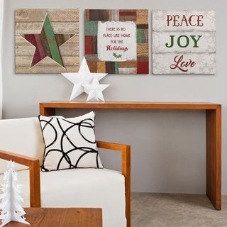 Peace and Joy -3 Piece Set