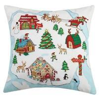 North Pole Bead Printed Pillow