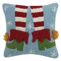 3D Elf Legs Hook Pillow
