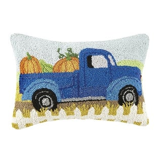 Fall Truck Hook Pillow