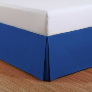 Lux Hotel Basic Microfiber Kids 14-inch Drop Bedskirt