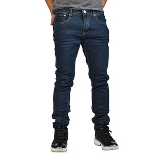 Indigo People Premium Quality Skinny Stretch Dark Indigo Bake Jeans