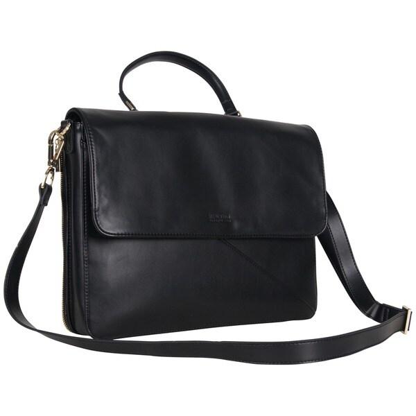 Kenneth Cole Reaction Fashion-forward K-pocket 15-inch Laptop Messenger Bag/ Crossbody Business Tote