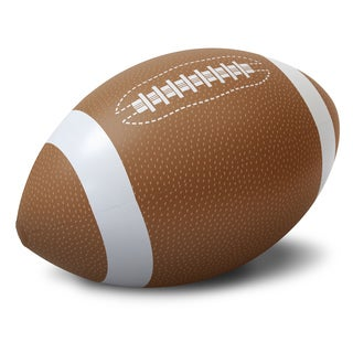 GoFloats 4' Giant Inflatable Football - Made From Premium Raft Grade Vinyl