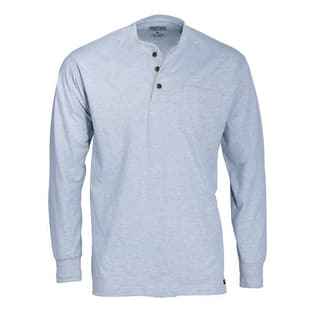 Smith's Workwear 100% Cotton Jersey Henley with Gusset Sleeves and Pocket|https://ak1.ostkcdn.com/images/products/18100817/P24258067.jpg?impolicy=medium