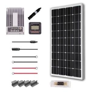 Renogy 100W 12V Mono Solar Premium Kit With Commander 20