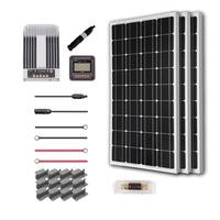 Renogy 300W 12V Mono Solar Premium Kit with Commander 40