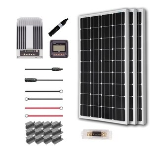 Renogy 300W 12V Mono Solar Premium Kit with Commander 40