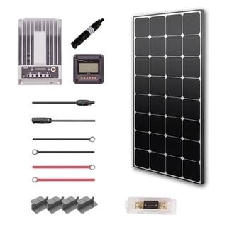 Renogy 100W 12V Eclipse Solar Premium Kit With Commander 20