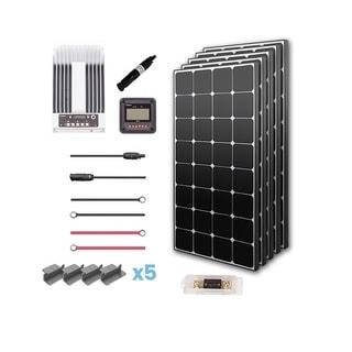 Renogy 500W 12V Eclipse Solar Premium Kit with Commander 40