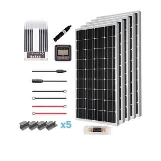 Renogy 500W 12V Mono Solar Premium Kit with Commander 40