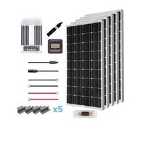 Renogy 500W 12V Mono Solar Premium Kit with Commander 40