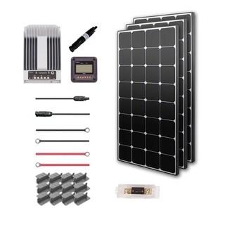 Renogy 300W 12V Eclipse Solar Premium Kit with Commander 40