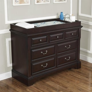 Avenue Greene Mirabel Espresso 7-Drawer Dresser