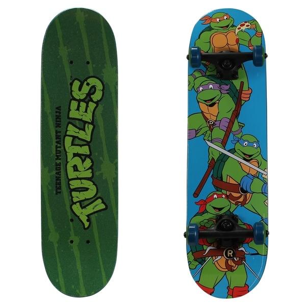 """Playwheels Teenage Mutant Ninja Turtles 28"""" Complete Skateboard. Opens flyout."""
