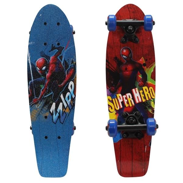 """Playwheels Spider-Man  28/"""" Skateboard Red"""