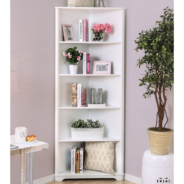 shelf shop bookshelf unit rakuten wood display wall rack bookcase costway product ladder stand corner tier