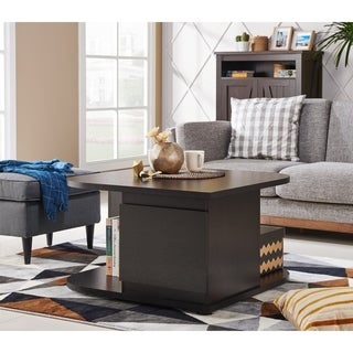 Furniture of America Lenya Contemporary 2-drawer Cappuccino Coffee Table