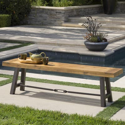 Rustic Outdoor Benches Online At