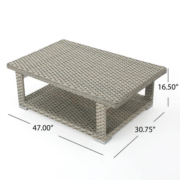Outdoor Lift Top Coffee Table 8