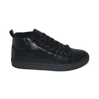 Mecca Men's Lace-Up Ankle Fashion Sneakers-ME-7086