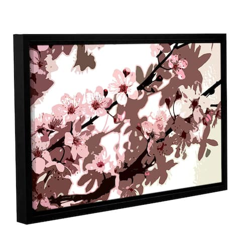 Sarah OToole's Japanese Blossom, Gallery Wrapped Floater-framed Canvas