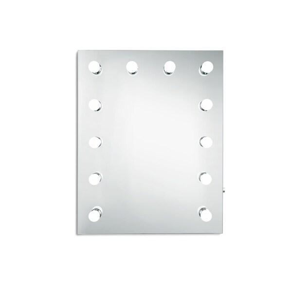 "Hollywood Vanity Mirror 5000K W24""H30"" - White"