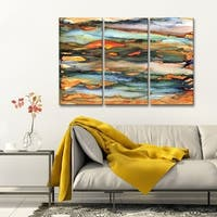 Ready2HangArt 'Methane' Canvas Wall Decor Set by Max+E - Multi-color