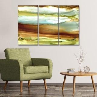 Ready2HangArt 'Jupiter' Canvas Wall Decor Set by Max+E - Brown
