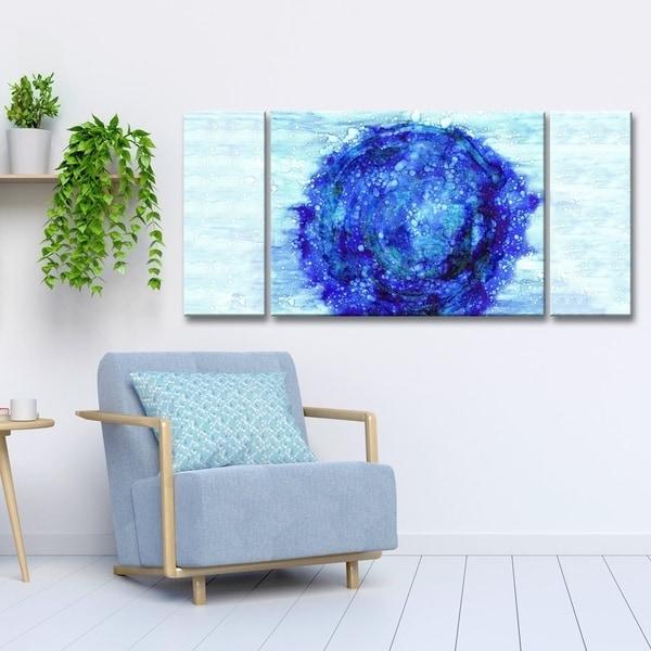 Ready2HangArt \'Celestial\' Canvas Wall Decor Set by Max+E - Blue ...
