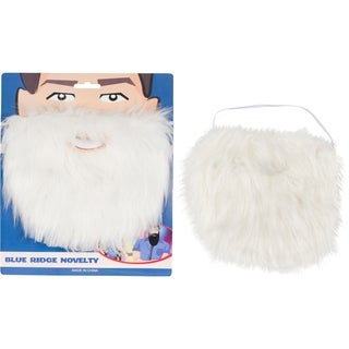 Costume and Character Beard with Elastic By Capital Costumes (White)