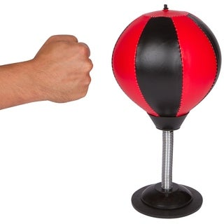 Desktop Punching Speed Bag Stress Buster with Pump By Trademark Innovations