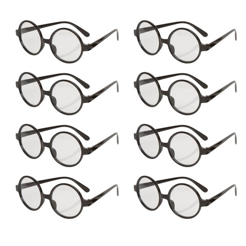 Wizard Glasses - Great Party/Costume Accessory - Pack of 8 - By Capital Costumes