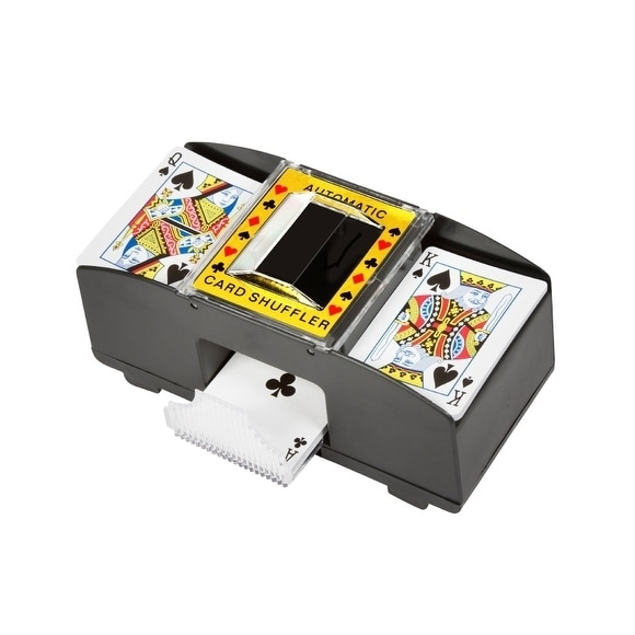 Card Deck Automatic Shuffler By Trademark Innovations - B...